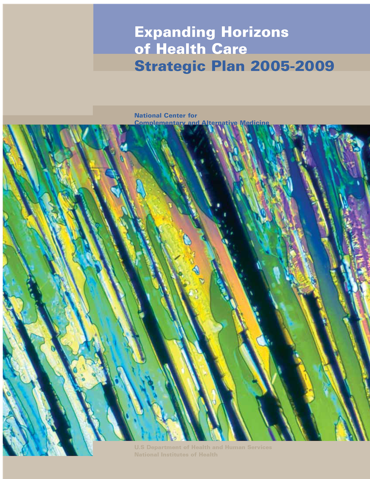 NCCAM 2005 Strategic Plan Cover