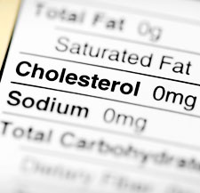 Cholesterol Label