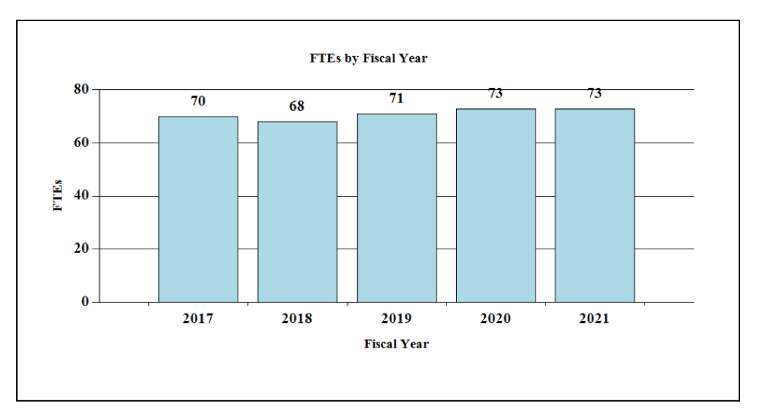 2021 FTE By FY