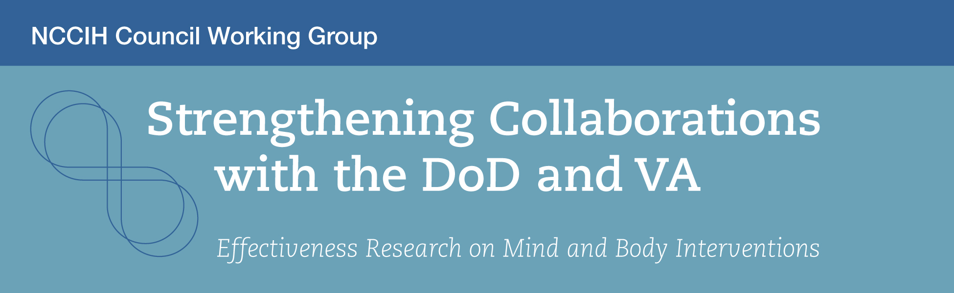 Strengthening Collaborations With the U.S. Department of Defense and U.S. Department of Veterans Affairs: Effectiveness Research on Mind and Body Interventions  A National Advisory Council on Complementary and Integrative Health (NACCIH) Working Group Report