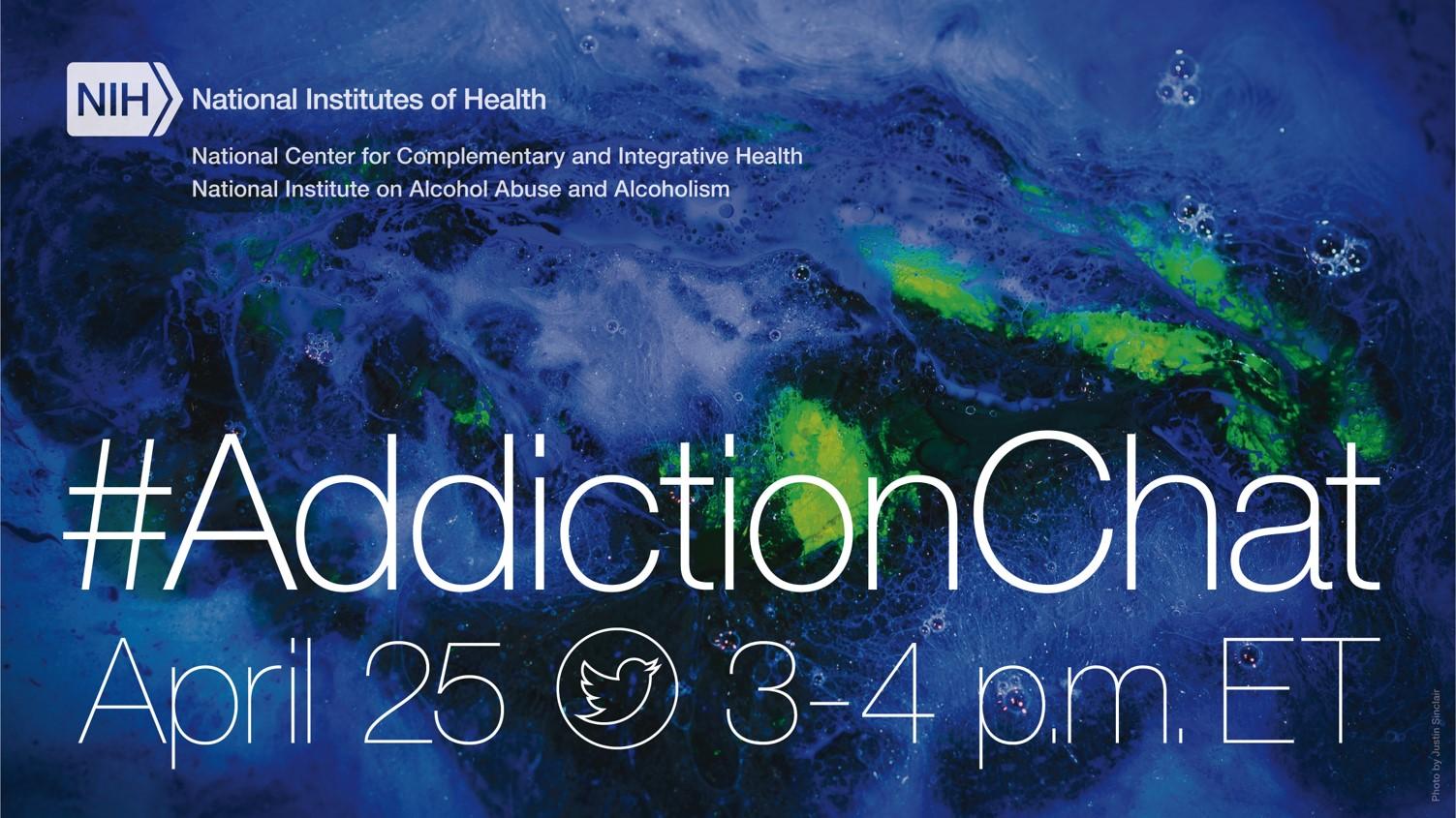 Addiction Twitter Chat 2018