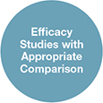 Efficacy Studies With Appropriate Comparison