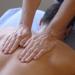 Man getting a massage. © Bob Stockfield