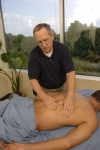 A back massage involves manipulation of the muscles and other soft tissues.