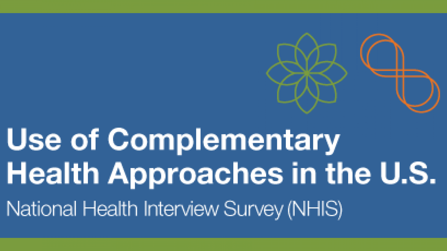 Use of Complementary Health Approaches in the U.S. National Health Interview Survey (NHIS)