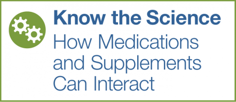 Know the Science: How Medications and Supplements Can Interact