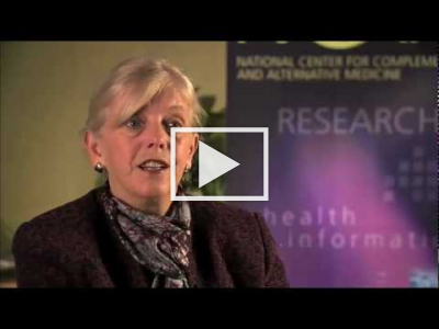 Video Q & A with NCCAM Director Dr. Josephine P. Briggs