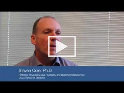 Dr. Cole talks about interdisciplinary nature of social genomics