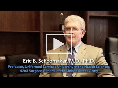 Dr. Eric Schoomaker discusses research collaboration between NIH and the VA (full interview)
