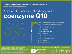 Click on following link for text version of adult use of coenzyme Q10