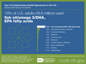 Click on following link for text version of adult use of fish oil/omega 3/DHA, EPA fatty acids